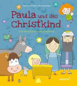 Paula und das Christkind von Boretzki,  Anja, Fritsch,  Marlene