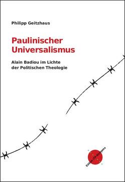 Paulinischer Universalismus von Geitzhaus,  Philipp