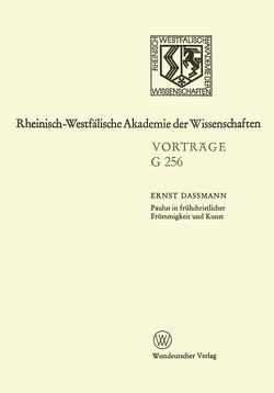 Paulus in Frühchristlicher Frömmigkeit und Kunst von Dassmann,  Ernst