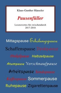 Pausenfüller von Häuseler,  Klaus-Gunther