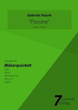 Pavane – Gabriel Faure (arr. Christian Fath) von Fath,  Christian