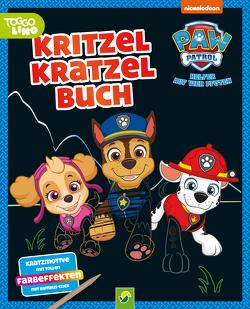 Paw Patrol – Kritzel-Kratzel-Buch