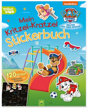 PAW Patrol Mein Kritzel-Kratzel Stickerbuch