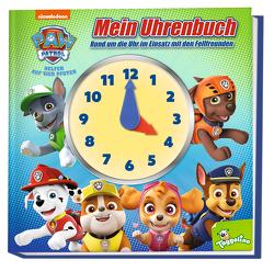 PAW Patrol: Mein Uhrenbuch – Rund um die Uhr im Einsatz mit den Fellfreunden von Panini