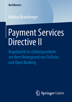 Payment Services Directive II von Bramberger,  Markus