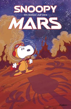 Peanuts 15: Ein Beagle auf dem Mars von Braddock,  Paige, Schulz,  Charles M., Scott,  Vicki, Wieland,  Matthias