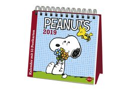 Peanuts Aufstell-Postkartenkalender – Kalender 2019 von Heye
