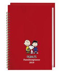 Peanuts Familienplaner Buch A5 – Kalender 2019 von Heye