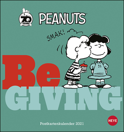 Peanuts Postkartenkalender 2021 von Heye
