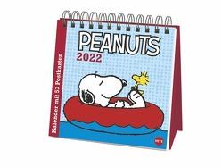 Peanuts Premium-Postkartenkalender 2022 von Heye