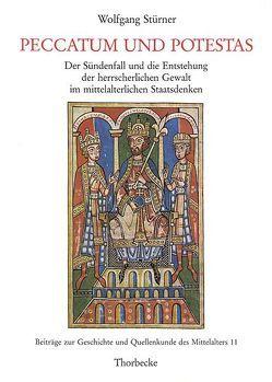 Peccatum und potestas von Stürner,  Wolfgang