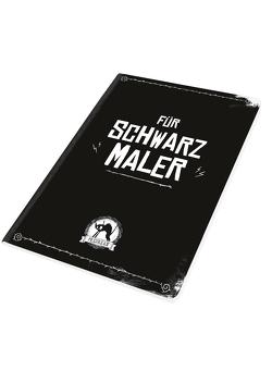 PECHKEKS Booklet Blank Book Für Schwarzmaler