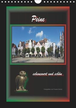 Peine sehenswert und schön (Wandkalender 2019 DIN A4 hoch) von Scholz,  Frauke