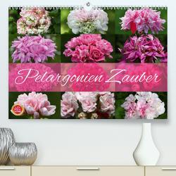 Pelargonien Zauber (Premium, hochwertiger DIN A2 Wandkalender 2021, Kunstdruck in Hochglanz) von Cross,  Martina