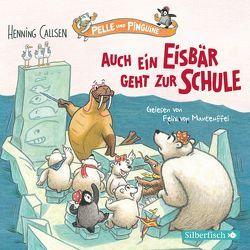 Pelle und Pinguine 2: Auch ein Eisbär geht zur Schule von Callsen,  Henning, von Manteuffel,  Felix