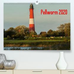 Pellworm 2020 (Premium, hochwertiger DIN A2 Wandkalender 2020, Kunstdruck in Hochglanz) von photo impressions,  D.E.T.