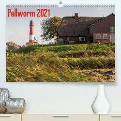Pellworm 2021 (Premium, hochwertiger DIN A2 Wandkalender 2021, Kunstdruck in Hochglanz) von photo impressions,  D.E.T.