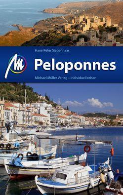 Peloponnes Reiseführer Michael Müller Verlag von Siebenhaar,  Hans-Peter