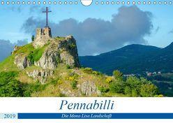 Pennabilli, die Mona Lisa Landschaft (Wandkalender 2019 DIN A4 quer) von Gaymard,  Alain