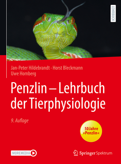 Penzlin – Lehrbuch der Tierphysiologie von Bleckmann,  Horst, Hildebrandt,  Jan-Peter, Homberg,  Uwe, Lay,  Martin