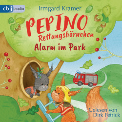 Pepino Rettungshörnchen – Alarm im Park von Kramer,  Irmgard, Petrick,  Dirk