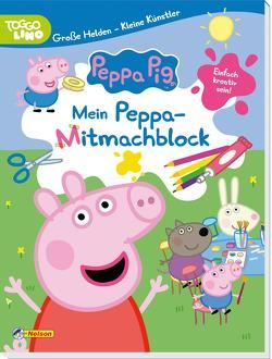 Peppa: Große Helden – Kleine Künstler: Mein Peppa-Mitmachblock