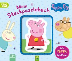 Peppa Pig Mein Steckpuzzlebuch von Bensch,  Katharina