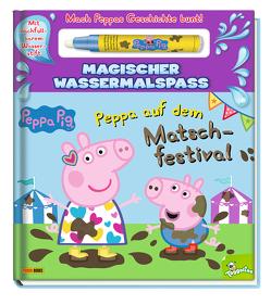 Peppa Pig: Peppa auf dem Matschfestival – Magischer Wassermalspaß von Panini