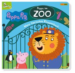 Peppa Pig: Peppa im Zoo – Mein tierisches Klappenbuch von Panini