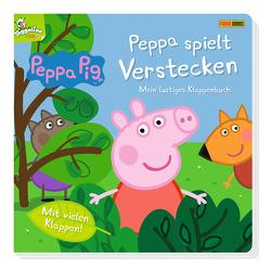 Peppa Pig: Peppa spielt Verstecken – Mein lustiges Klappenbuch von Panini