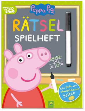 Peppa Pig – Rätsel-Spielheft