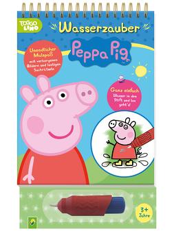 Peppa Pig Wasserzauber – einfach mit Wasser malen