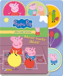 Peppa Pig: Zieh und Schau – Meine bunte Welt