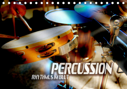 Percussion – Rhythmus im Blut (Tischkalender 2021 DIN A5 quer) von Bleicher,  Renate
