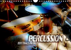 Percussion – Rhythmus im Blut (Wandkalender 2021 DIN A4 quer) von Bleicher,  Renate