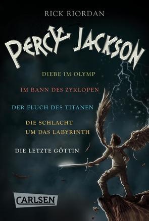 Percy Jackson: Alle fünf Bände der Bestseller-Serie in einer E-Box! (Percy Jackson ) von Haefs,  Gabriele, Riordan,  Rick