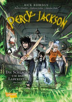 Percy Jackson (Comic) 4: Die Schlacht um das Labyrinth von Futaki,  Attila, Riordan,  Rick, Venditti,  Robert
