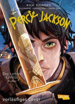 Percy Jackson (Comic) 5: Die letzte Göttin von Fricke,  Harriet, Futaki,  Attila, Riordan,  Rick, Venditti,  Robert