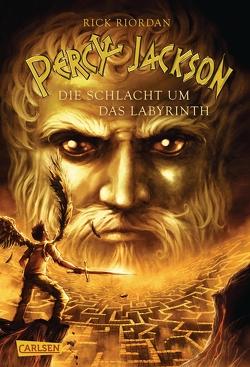 Percy Jackson – Die Schlacht um das Labyrinth (Percy Jackson 4) von Haefs,  Gabriele, Riordan,  Rick