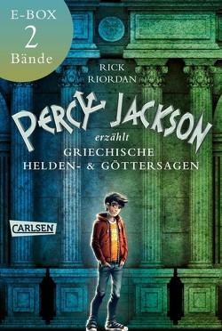 Percy Jackson erzählt: Beide Bände der Bestseller-Serie in einer E-Box! von Haefs,  Gabriele, Riordan,  Rick