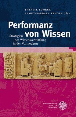 Performanz von Wissen von Fuhrer,  Therese, Renger,  Almut-Barbara