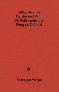Perikles und Verdi von Deleuze,  Gilles, Lange,  Thomas