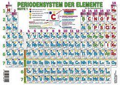 Periodensystem der Elemente Sekundarstufe I (Format A3) von Moritz,  Petra