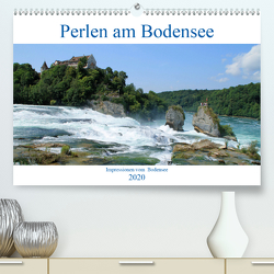 Perlen am Bodensee (Premium, hochwertiger DIN A2 Wandkalender 2020, Kunstdruck in Hochglanz) von Sabel,  Jörg