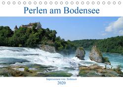 Perlen am Bodensee (Tischkalender 2020 DIN A5 quer) von Sabel,  Jörg