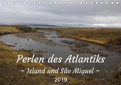 Perlen des Atlantiks – Island und São Miguel (Tischkalender 2019 DIN A5 quer) von Freymark,  Jessica