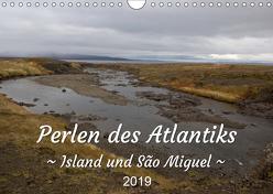 Perlen des Atlantiks – Island und São Miguel (Wandkalender 2019 DIN A4 quer) von Freymark,  Jessica