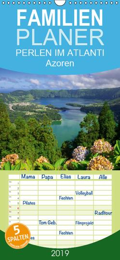 Perlen im Atlantik – Azoren – Familienplaner hoch (Wandkalender 2019 , 21 cm x 45 cm, hoch) von Scholz,  Frauke