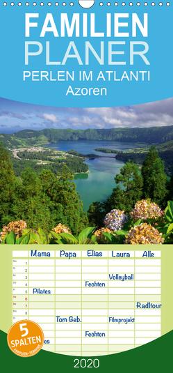 Perlen im Atlantik – Azoren – Familienplaner hoch (Wandkalender 2020 , 21 cm x 45 cm, hoch) von Scholz,  Frauke