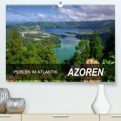 Perlen im Atlantik – Azoren (Premium, hochwertiger DIN A2 Wandkalender 2021, Kunstdruck in Hochglanz) von Scholz,  Frauke